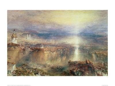 Zurich-J^ M^ W^ Turner-Giclee Print