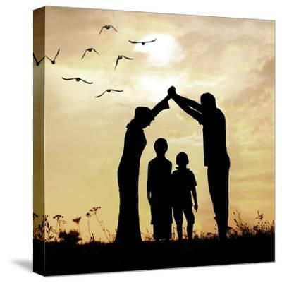 Family Parents and Children, Secure and Protecting Home