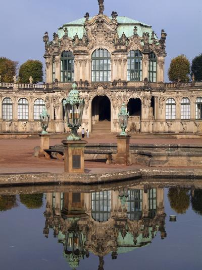 Zwinger Palace, Dresden, Saxony, Germany, Europe-Hans Peter Merten-Photographic Print