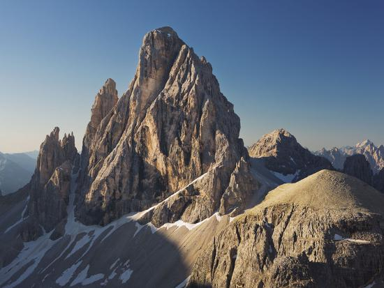 Zwšlferkofel, North Face, South Tyrol, the Dolomites Mountains, Italy-Rainer Mirau-Photographic Print