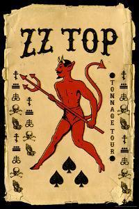 ZZ Top - Tonnage Tour